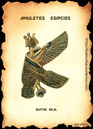 BUITRE REAL-papiro-bykathyca